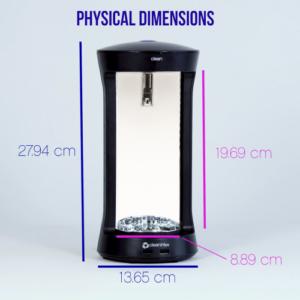 CleanintUV Dimensions