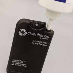 Cleanhands being refilled